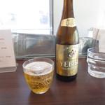 カレーライス ディラン - ビールもあります。