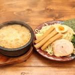 竹本商店☆つけ麺開拓舎 - 料理写真:名物 濃厚豚骨伊勢海老つけ麺