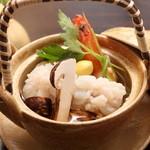 いしづか - ~松茸と鱧の土瓶蒸し~