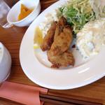 食堂 PaPas - カキフライ(寒い冬のお楽しみ パパス名物)