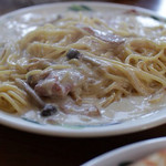 山の食堂Hana - キノコのクリームパスタ