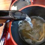 蕎麦六 - 蕎麦湯