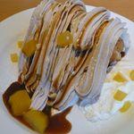 いちカフェレストラン - マロンケーキ(¥400)