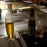 25351194 - 生ビール。嫁さんはノンアルコールで