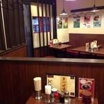 中華麺飯 太楼 - 201403 太楼 店内(座席より右まわり)⇒左手は「出入口」