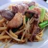 橋野食堂 - 料理写真:ホルモンうどん(ピリ辛)
