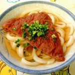 讃岐製麺所 - かけ+お揚げ