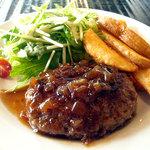 レストランバー ブゼン - 「ハンバーグ~シャリアピンソース」