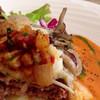 ガーデンレストラン 樹音 - 料理写真:チーズハンバーグp(^_^)q 具材も沢山のっています♪