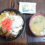 いさかや - 料理写真:カツ丼 700円