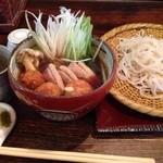 Teuchisobanotaguto - 鴨せいろ〜冷たい一口蕎麦つゆも付きます〜