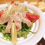 豚工房 どんぐり - トロハムサラダ 780円
