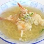 大浜食堂 - 料理写真:天ぷらラーメン