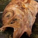 寿司海鮮 たはら - ノドグロさん(別名:アカムツ) ね、喉のなかが黒いのです(笑)