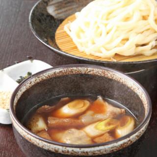 埼玉郷土の「肉ネギつけ汁うどん」