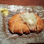 初つぼみ - 桜海老と竹の子の自家製さつま揚げ