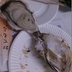 広島春牡蠣フェスタ かき小屋 - 焼き牡蠣