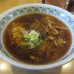 小江戸 - ラーメン 並 500円 麺固め・辛味多め