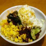 博多とんかつ処浜田屋 - サラダバーで取ったサラダ