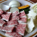 小次郎渕 - 上牛炭火焼定食