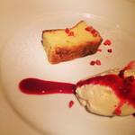 25376064 - チーズムースとケーキ