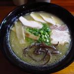 樂笑 - 鳥白湯ラーメン ¥630