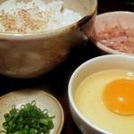 麹や つづみ亭 - 卵かけご飯