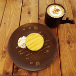 Cafe VG - チーズとカボチャのケーキ