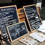 キッチン欧味 - レストラン欧味の外にあるメニュー