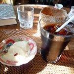 福 - 杏仁豆腐・アイスコーヒー/ミニセット