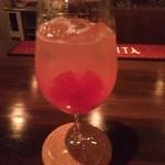 スギズバー - フルーツトマトと日本酒(基酒)のカクテル