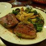 黒毛和牛イチボ肉のロースト