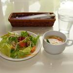 ラハイナ - 2009.6.30 撮影 サラダ & スープ