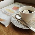 ラポカフェ - パスタセットのデザートは「コーヒーゼリー」