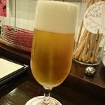 ピッコロジャルディーノ - 生ビール