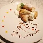 黒猫cafe - もっちもちの揚げパンけーき☆