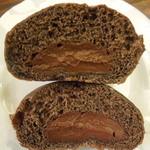 あこべる - しあわせのチョコクリームパンの中は、とろとろっとしたチョコクリーム。