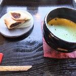 不曹庵 - 抹茶セット(800円)