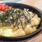お好み焼き向日葵 - 山芋ステーキ