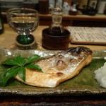 ごちそう紫陽 - 桜鱒の塩焼き