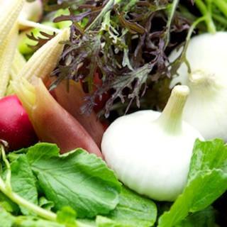 季節ごとに替わる色とりどりの野菜♪