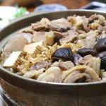 ジビエ料理アンザイ - 牡丹鍋