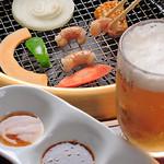 Takeshoku - 焼肉のお供といえばやっぱりビール!仕事帰りに一杯いかがですか?