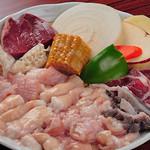 Takeshoku - 当店の和牛生ホルモンには稀少部位もたくさん!ハチノスサンド、ミノサンド、コブクロ、ネクタイ、赤コリ、キモグレンスなどもございます!