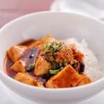 人人人 - ミニサイズの麻婆豆腐ご飯