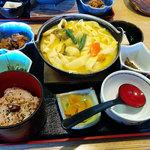富士見茶屋いろり - ほうとう定食