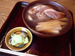 並木藪蕎麦 - 鴨南蛮  1800円(11月〜3月)