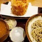 亀蔵 - かき揚げおろし蕎麦