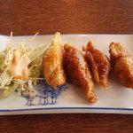 ひさご - 鳥皮餃子 400円