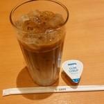 ドトールコーヒーショップ - アイスハニーカフェ・オレM¥300